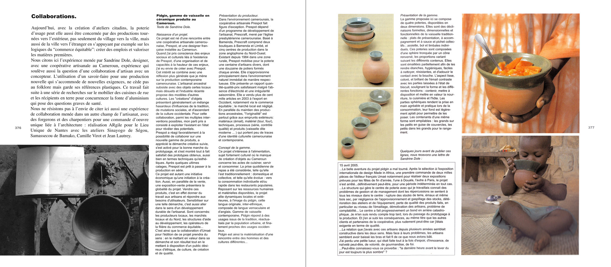 Magazine Design Intérieur parutions sandrine dole